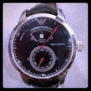 """Emporio Armani """"Meccanico"""" Automatic Watch"""